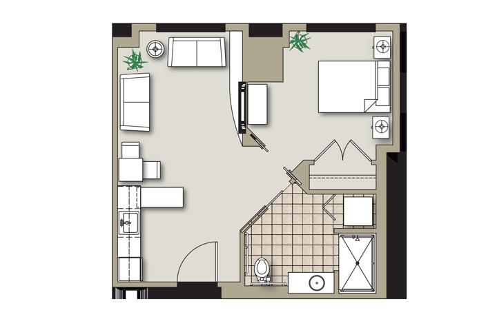 Onebedroom-B-Greenbriar